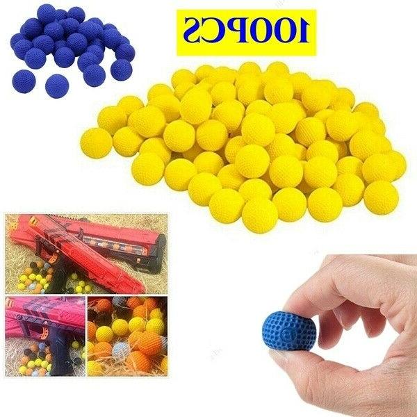 Round Foam Bullet Compatible with RIVAL Blasters Yellow