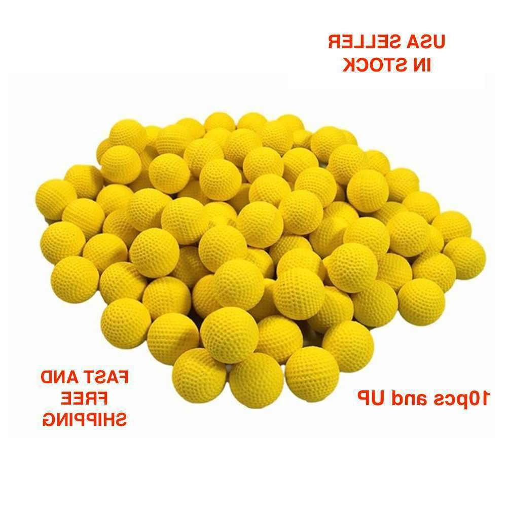 round refill soft foam bullet compatible