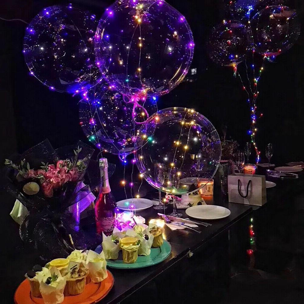 "10 X18""LED Up Balloons Kid Birthday Party"