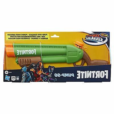 Nerf Soaker Fortnite Pump-SG Blaster Pump-Action