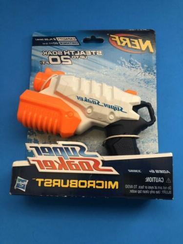super soaker microburst stealthsoak pump action squirt