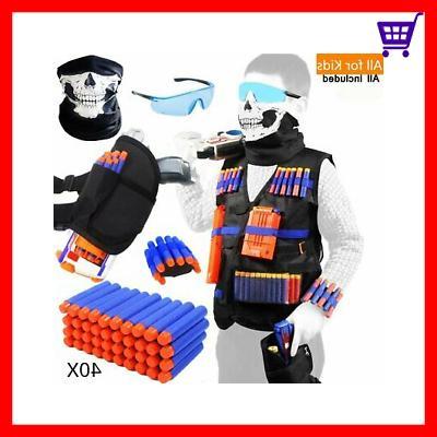 Tactical Vest Kit for Nerf Guns for boys N-Strike Elite Seri
