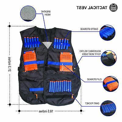 Tactical Vest Nerf N-Strike etc