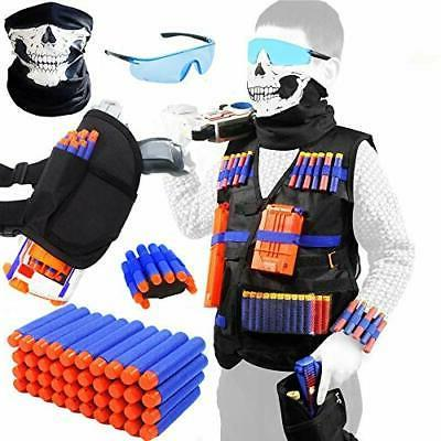 taveki tactical vest kit compatible for nerf