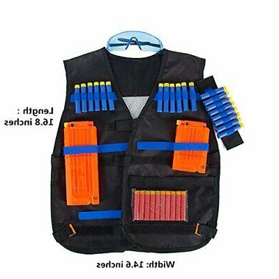 TAVEKI Tactical Compatible for Nerf for Boys Series wit...