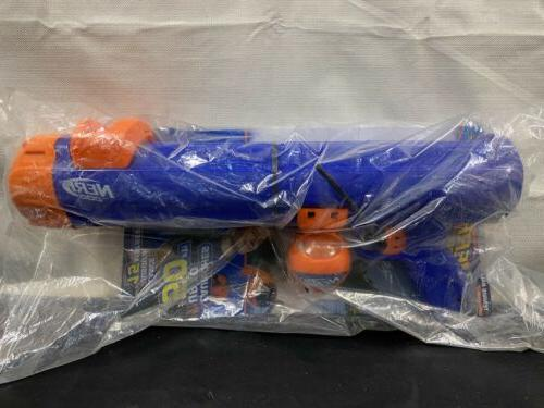 tennis ball blaster toy launches 50 ft