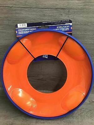 Nerf Dog Flyer Disc Blue Orange