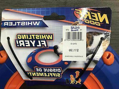 Nerf Dog Whistler Flyer Orange