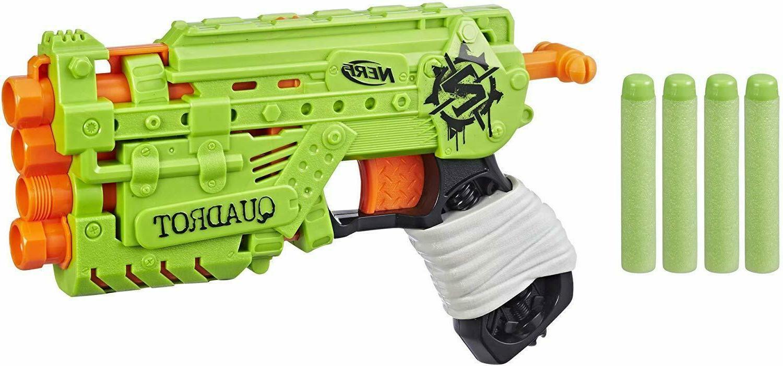 Nerf Zombie Strike Blaster Gun Rifle Kids Teen Adults Toy Da