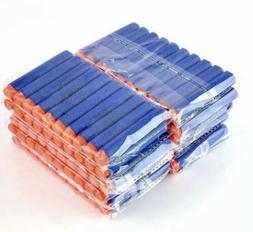 Lot 100 Pcs Refill Foam Darts for Nerf N-strike Elite Series