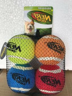 Nerf Dog Medium Squeaker Tennis Ball Dog Toy   / 367