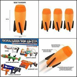 Little Valentine Mega Missile Refill 3-Pack for Nerf N-Strik