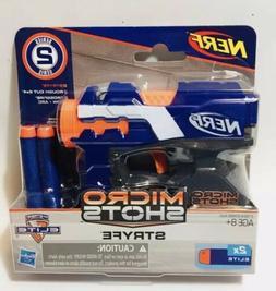 Nerf Micro Shots Series 2 Stryfe Blaster w/ 2 Darts by Hasbr