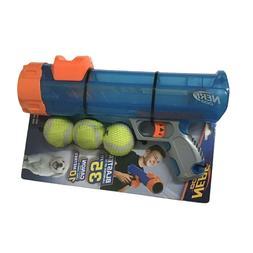 Nerf Dog Mini Tennis Ball Blaster Fetch Dog Toy Shooter Cann