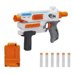 Nerf Modulus Mediator Elite Series Strike Blaster Gun Darts