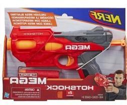 NERF N-Strike HOTSHOCK MEGA Foam Dart Gun Blaster 2 Big Larg