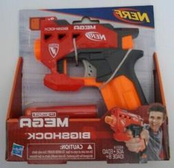 NERF N-STRIKE MEGA BIGSHOCK Toy Gun Blaster & Two 2X Mega Da