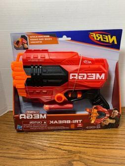 Nerf N Strike Mega Tri Break Kids Pretend Play Toy Blaster H