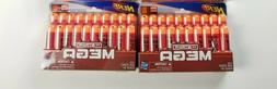 Nerf N-Strike MEGA Whistler Darts 20 Pack, New Lot of 2