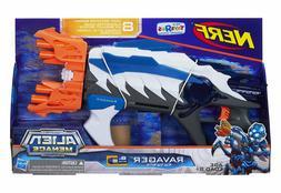 NERF Alien Menace Ravager Blaster RARE BLUE PROTOTYPE COLOR