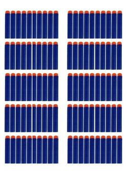 Nerf-compatible 100 Blue foam darts - Refill pack - bullets