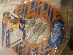 Nerf Dog Force Grip Flyer L Pet 10 Inch Toy Disc Orange/blue