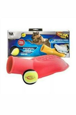 Nerf Dog-Tennis Ball Blaster Stomper 100 ft Launcher Fetch T