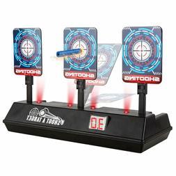 Nerf Electronic Targets, Electronic Scoring, Auto Reset Digi