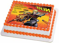 Nerf Guns Battle Royale Edible Wafer Personalized Cake Toppe