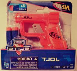 NERF JOLT N-STRIKE ELITE BLASTER SINGLE SHOT HASBRO AGES 8+