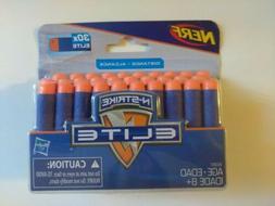 Nerf N Strike Elite 30x Refill Pack Striker Darts Soft Bulle