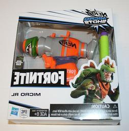 New Nerf Fortnite Micro RL Shots Toy Blaster Orange Green Ha