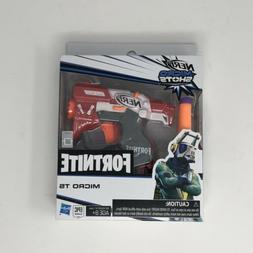 New Nerf Fortnite Micro TS Shots Toy Blaster Red Hasbro Gun