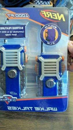 NEW Kid's Nerf Walkie Talkies ... set of 2
