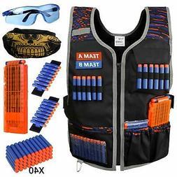 Tactical Vest Kit Compatible with Nerf Guns N-Strike Elite