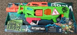 New Nerf Zombie Strike Contractor Blaster with Lights and So