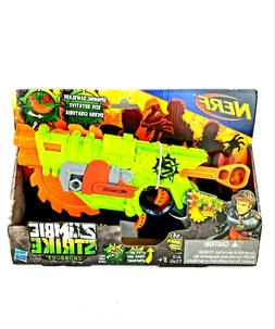 NEW Nerf Zombie Strike Crosscut 2-in-1 Action Blaster With 4