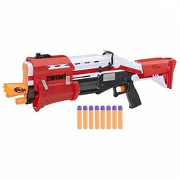 Nerf Pump Action Blaster Fortnite Shotgun With 8 Nerf Mega D