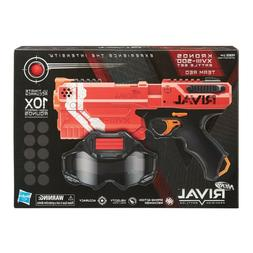 Rare! Nerf Rival Kronos XVIII-500 Battle Set Team RED Blaste
