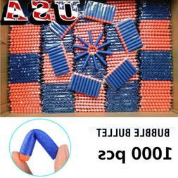 1000Pc Foam Refill Bullet Darts for Elite Series Blasters Ki