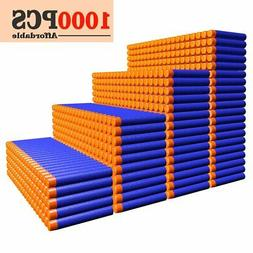 AMOSTING Refill Darts 1000PCS Ammo Bulk Bullets Pack for Ner