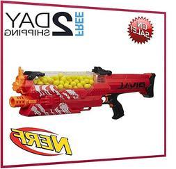 Nerf Rival Nemesis Kids Gun MXVII-10K, Red Blaster Hopper