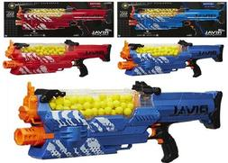 Nerf Rival Nemesis MXVII-10K Red Blue Ages 14+ Toy Play Gun