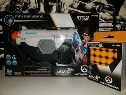 Nerf Rival Overwatch Tracer Blaster -- Spinning Reload Actio