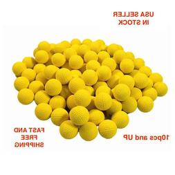 Round Refill Soft Foam Bullet Compatible with NERF RIVAL Bla