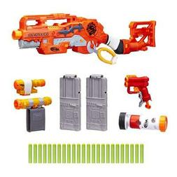 Scravenger Nerf Zombie Strike Toy Blaster with Two 12-Dart C
