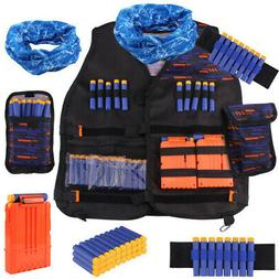 - Satkago Tactical Vest Kit Compatible with Nerf Guns