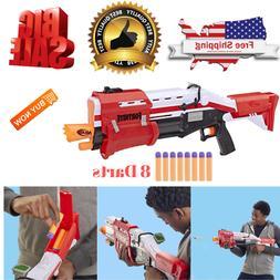 Nerf Shotgun Blaster Gun Dart Toy Kids Official Fortnite TS