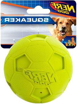 Nerf Dog Soccer Squeak Ball Dog Toy