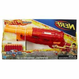 NERF Sonic Fire BARREL BREAK IX-2 Double Shotgun Blaster N-S